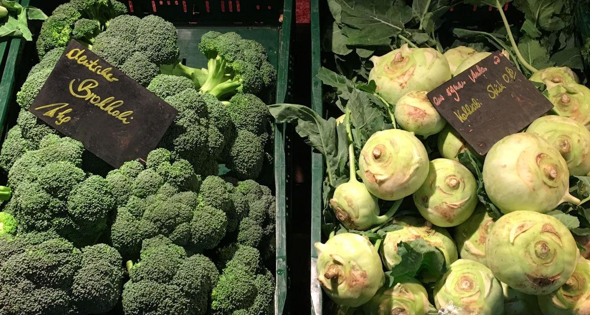 Kohlrabi-Brokoli